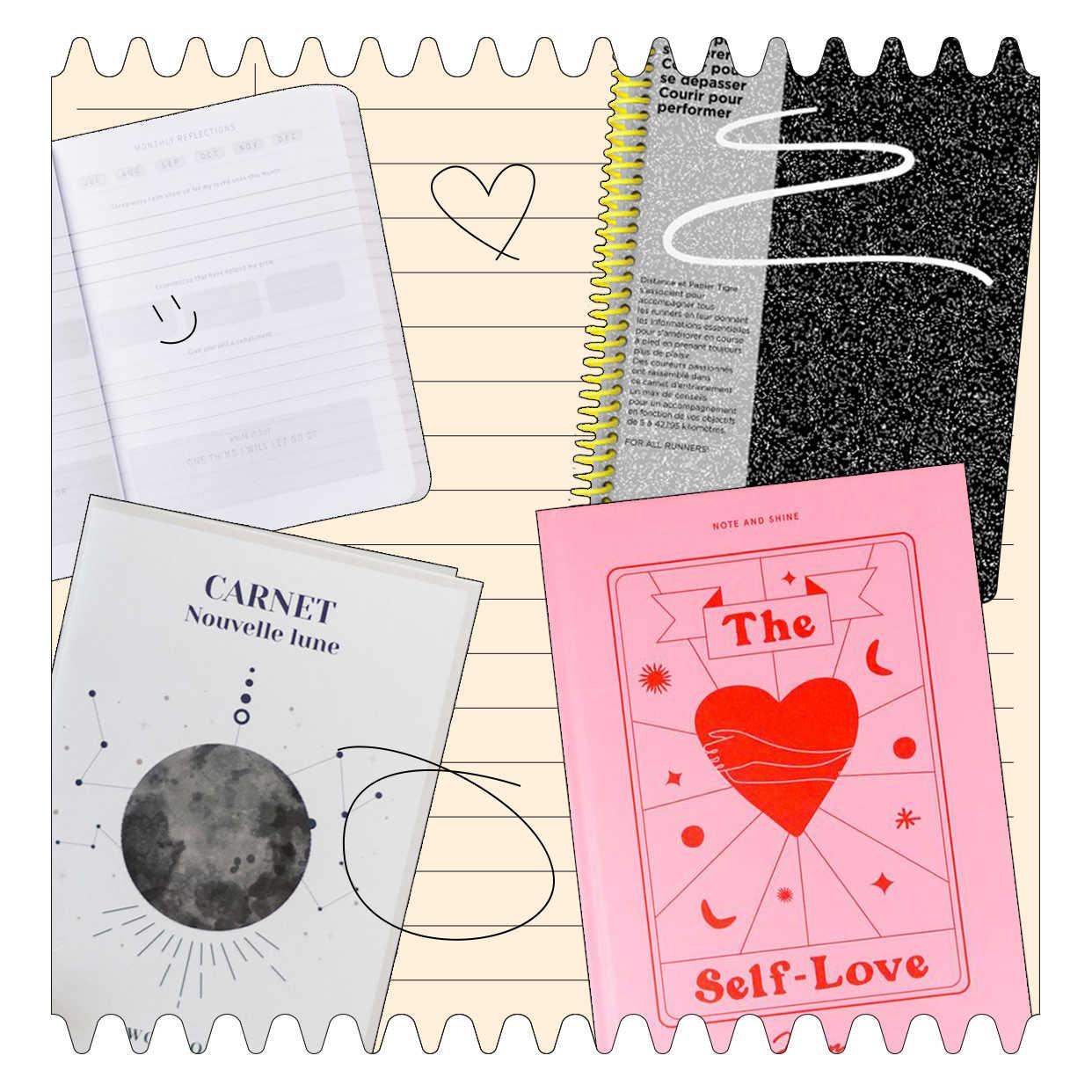 Shopping list : 10 carnets qui font du bien