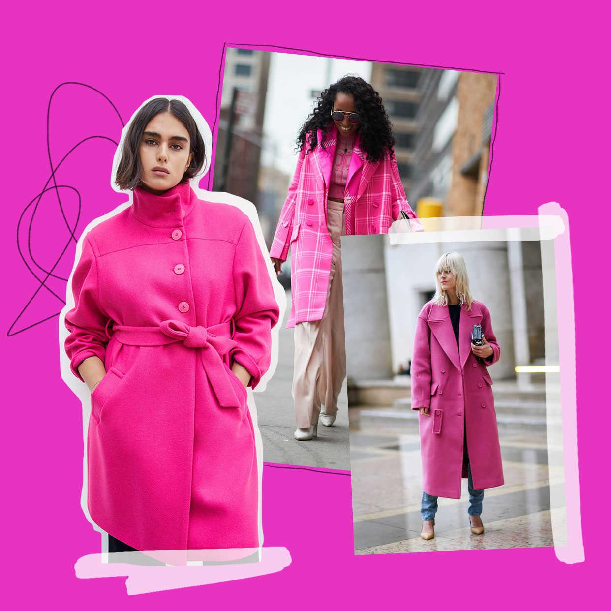 Fashion Prédiction : le manteau rose bonbon