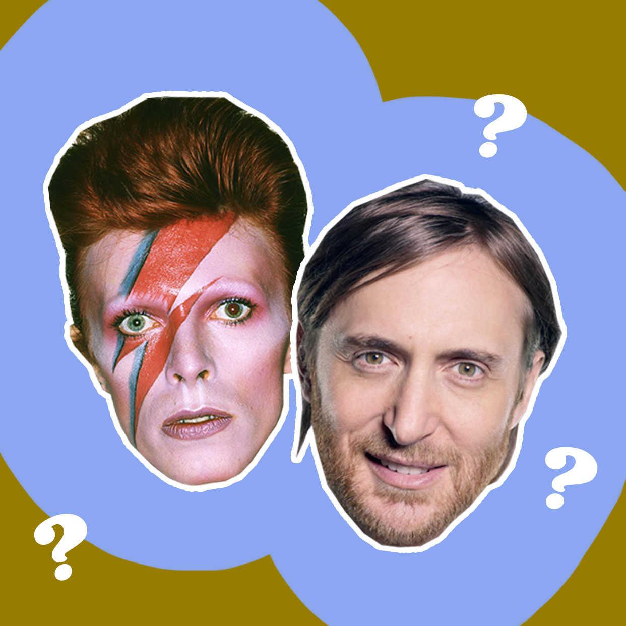 David Bowie ou David Guetta : qui a dit quoi ?