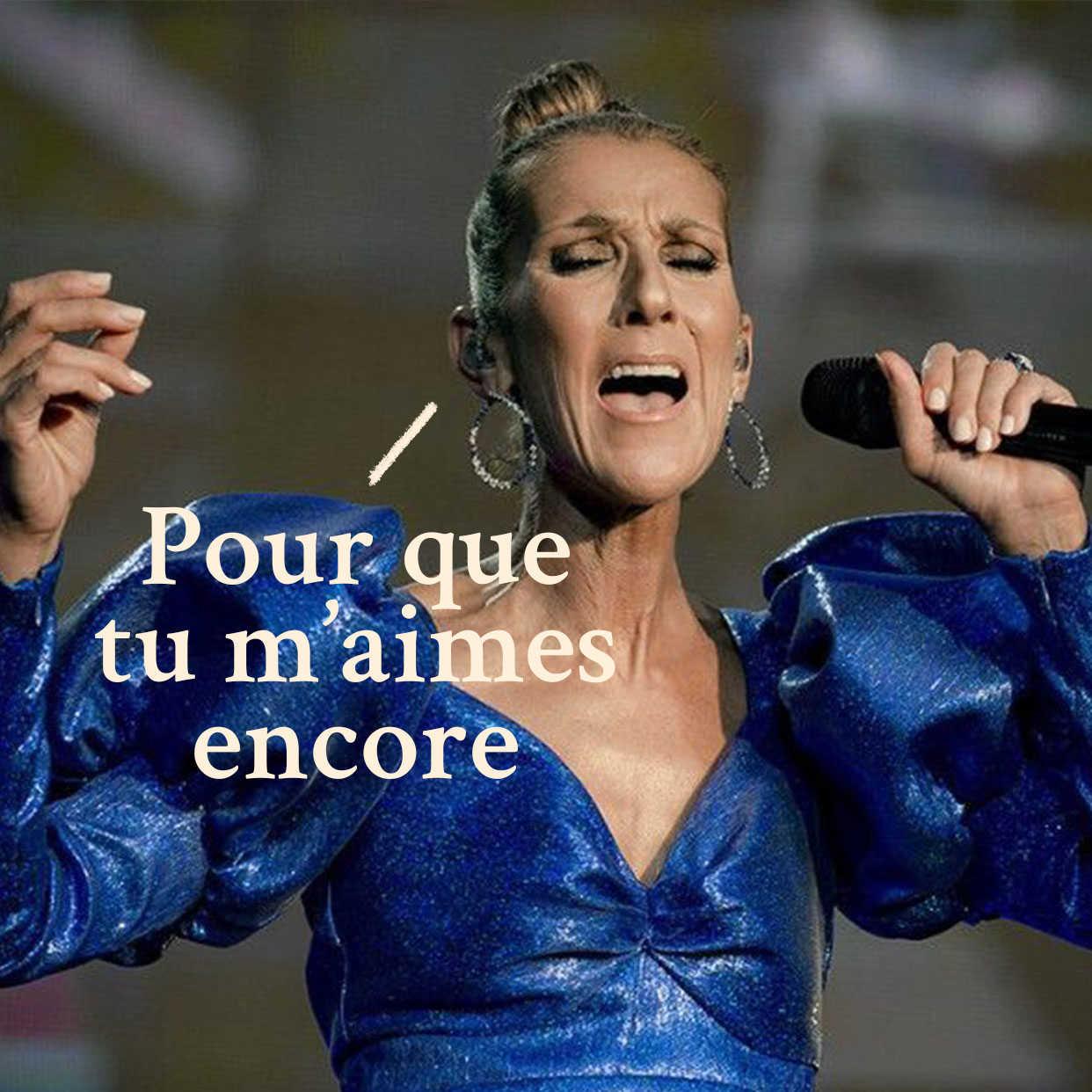 Ceci est une déclaration d'amour à Céline Dion (et c'est tout)